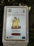 Via Francigena Roma